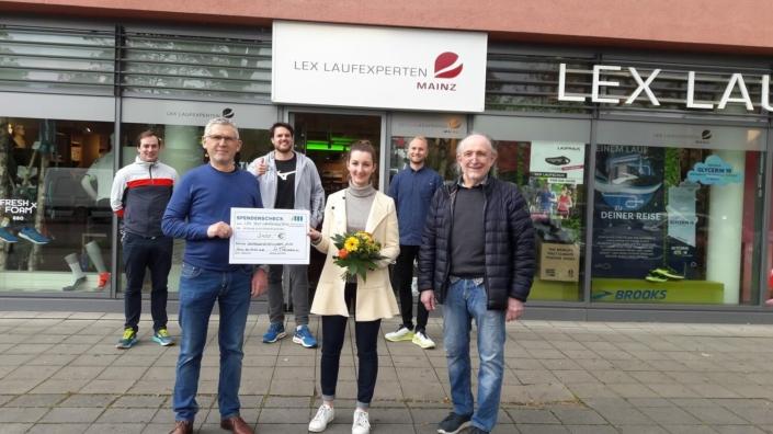 LEX Partner Cup 2021 - Spendenuebergabe